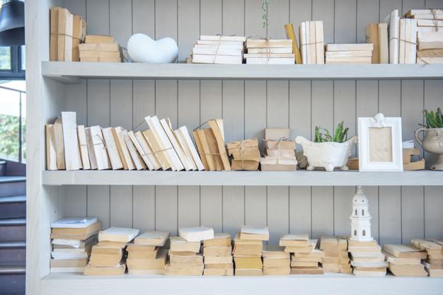 Få en indbygget bogreol
